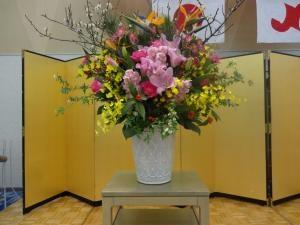 ○○周年記念のお花…