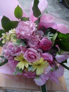 送別のお花など・・…